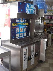 New Product! - Water Vending Machine Model WS2 Complete with Reverse Osmosis Filtration & U/V Sterilization