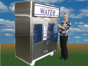 Water Vending Machine Model DQ2-1200 Double Compartment